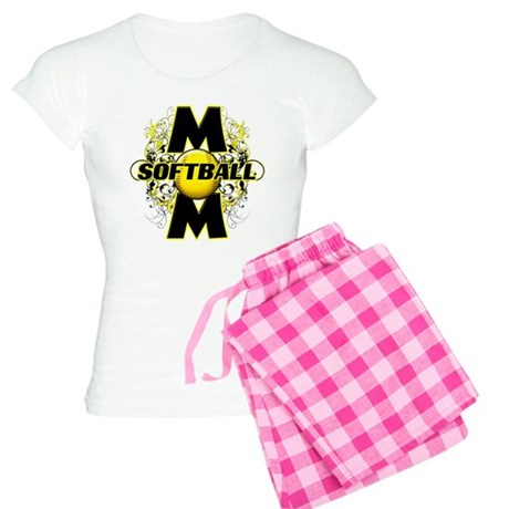Softball Mom (cross) Women's Light Pajamas