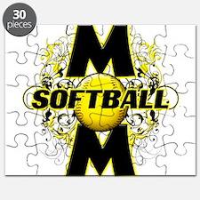 Softball Mom (cross) Puzzle