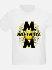 Softball Mom (cross) T-Shirt