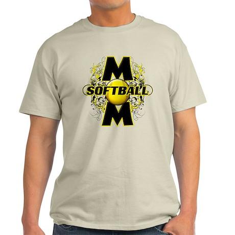 Softball Mom (cross) Light T-Shirt