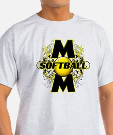 Softball Mom (cross) T-Shirt