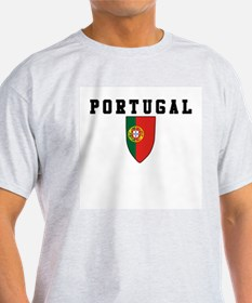 Portugal Futbol Ash Grey T-Shirt