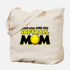 Don't Mess With This Softball Tote Bag