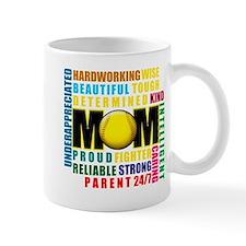 A Softball Mom Mug