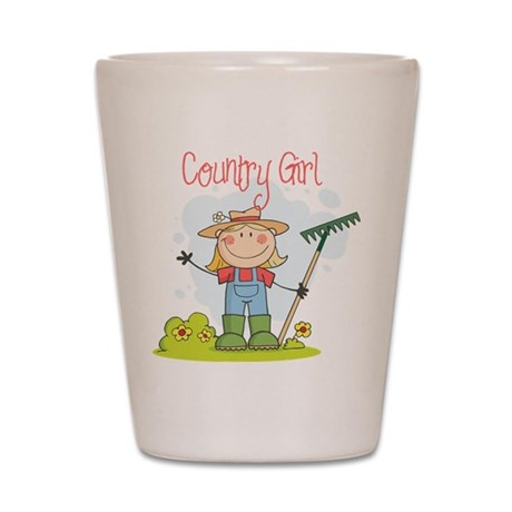 Country Girl Shot Glass