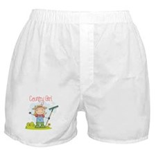 Country Girl Boxer Shorts