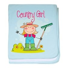 Country Girl baby blanket