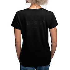 Women's V-Neck T-Shirt Back Printing
