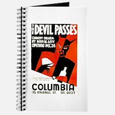 The Devil Passes WPA Poster Journal
