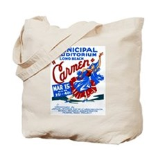 Carmen WPA Poster Tote Bag