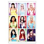 """LARGE 23x35 """"Twisted Princesses"""" Poster"""