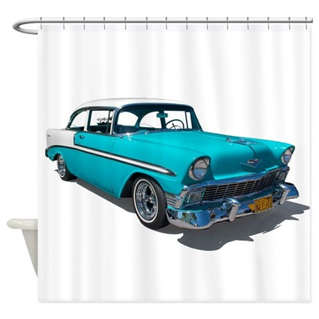 '56 Chevy Bel Air Shower Curtain