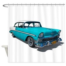 '56 Chevy Bel Air Shower Curtain