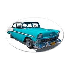 '56 Chevy Bel Air 22x14 Oval Wall Peel