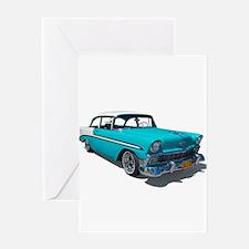 '56 Chevy Bel Air Greeting Card