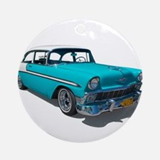 '56 Chevy Bel Air Ornament (Round)