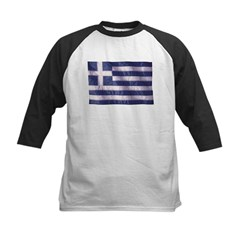 Wavy Greece Flag Tee