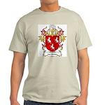 Van Santen Coat of Arms Ash Grey T-Shirt