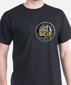 DEA Tech Ops Black T-Shirt