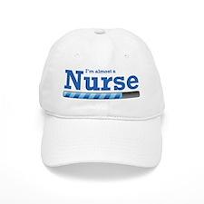 I'm almost a nurse Baseball Cap