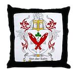 Van der Salm Coat of Arms Throw Pillow