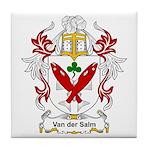 Van der Salm Coat of Arms Tile Coaster