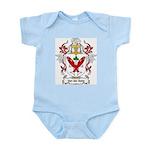 Van der Salm Coat of Arms Infant Creeper