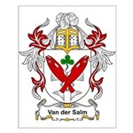 Van der Salm Coat of Arms Small Poster