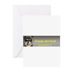 Friends, Not Food Greeting Cards (Pk of 20)