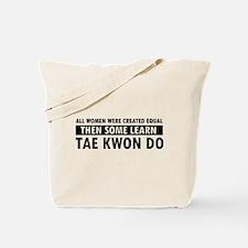 Taekwondo designs Tote Bag