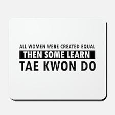 Taekwondo designs Mousepad