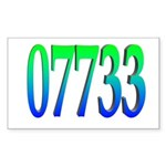 07773 Teaneck Rectangle Sticker