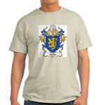 Van Ryn Coat of Arms Ash Grey T-Shirt