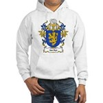 Van Ryn Coat of Arms Hooded Sweatshirt