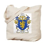 Van Ryn Coat of Arms Tote Bag
