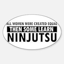 Ninjutsu design Decal