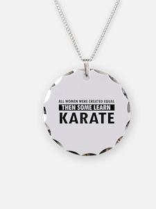 Karate design Necklace