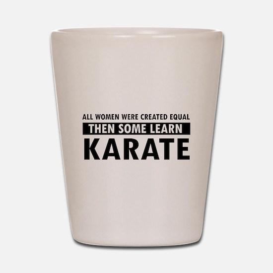 Karate design Shot Glass
