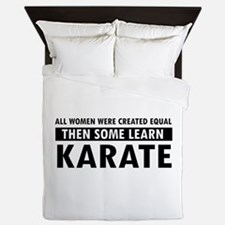 Karate design Queen Duvet