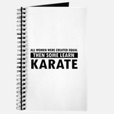 Karate design Journal