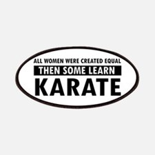 Karate design Patches