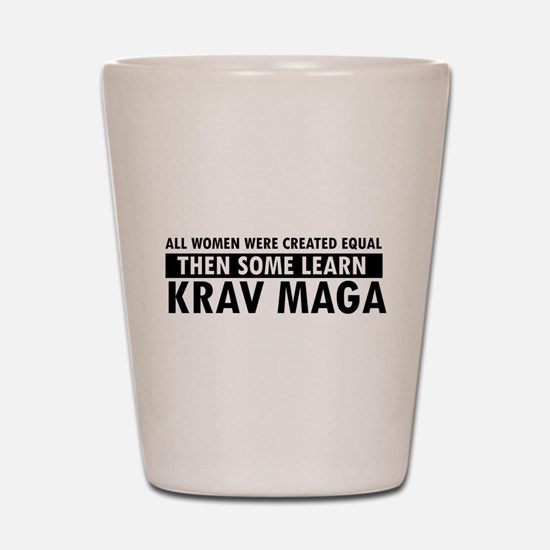 Krav Maga design Shot Glass