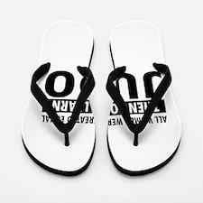 Judo design Flip Flops