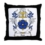 Ruysch Coat of Arms Throw Pillow