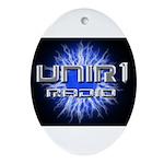 UNIR1 RADIO Ornament (Oval)