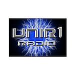 UNIR1 RADIO Rectangle Magnet (100 pack)