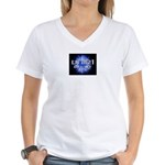 UNIR1 RADIO Women's V-Neck T-Shirt