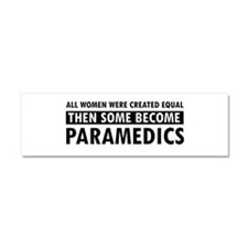 Paramedic design Car Magnet 10 x 3