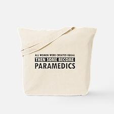 Paramedic design Tote Bag
