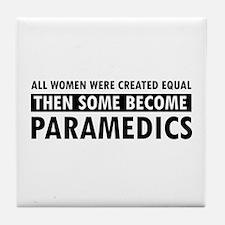 Paramedic design Tile Coaster
